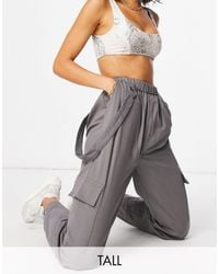 Missguided Cargo Trouser - Grey