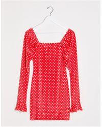 I Saw It First Vestido corto - Rojo