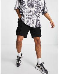 Pull&Bear – e Cargo-Shorts - Schwarz