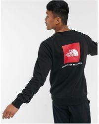 The North Face Sweatshirt Met Raglanmouwen En Logo - Zwart