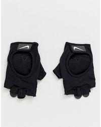 Nike Черные Перчатки Training - Черный