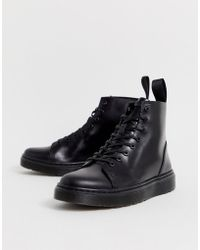 Dr. Martens Черные Ботинки С 8 Парами Люверсов Talib - Черный