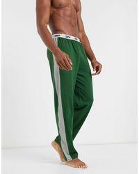 ASOS – Pyjamahose - Grün