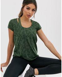 ASOS 4505 - T Shirt In Sheer Camo - Lyst