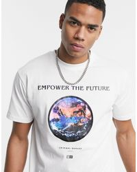 Criminal Damage Empower The Future T-shirt - White