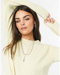 Vero Moda Round Neck Sweater - Yellow