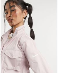 Nike - Светло-розовая Тканевая Куртка Move To Zero Essential-розовый Цвет - Lyst