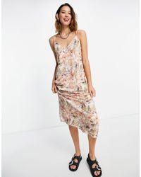 Bolongaro Trevor – billie – trägerkleid mit print - Mehrfarbig