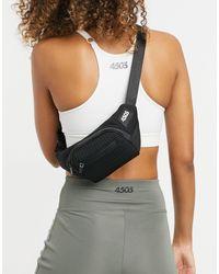 ASOS 4505 Running Bum Bag With Reflective Detail - Black