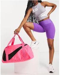 Nike Borsone a bauletto da palestra rosa