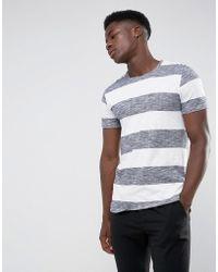 Minimum - Cabra Striped T-shirt - Lyst
