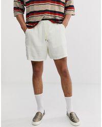 ASOS Slim Shorts - Natural