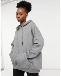ONLY Oversized Hoodie - Gray