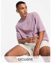 Collusion T-shirt en coton biologique à logo - Violet