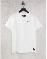 Wesc Max - t-shirt imprimé « future » - Blanc