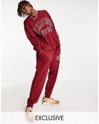 Reclaimed (vintage) Inspired – Sweatshirt - Rot