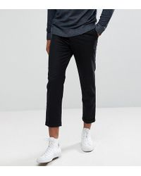 Bellfield - Tall Cropped Trousers With Pleated Front - Lyst