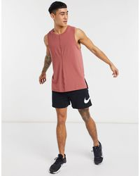 Nike Nike – Yoga-Trägertop - Rot