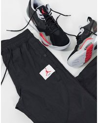 Nike Черные Тканые Джоггеры -черный - Синий