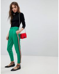ONLY - Trouser With Taping - Lyst