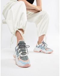 Jeffrey Campbell - Pastel Check Chunky Trainers - Lyst