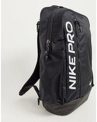 Nike Черный Рюкзак Pro