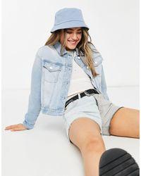 Pimkie Giacca di jeans corta azzurra - Blu
