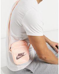 Nike Бледно-розовая Сумка Через Плечо Heritage-розовый Цвет
