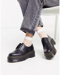 Dr. Martens Zapatos gruesos 1461 Quad - Negro