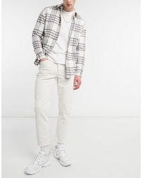 River Island Tapered Jeans - White