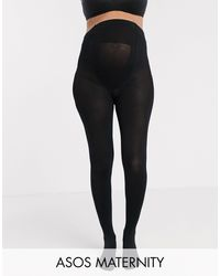 ASOS Asos Design Maternity New Improved Fit 200 Denier Black Tights