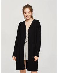 Miss Selfridge Soft Cosy Robe - Black