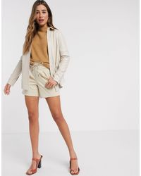 B.Young Relaxed Shorts-brown - Multicolour