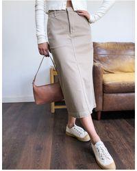 Carhartt WIP Midi Skirt - Multicolour