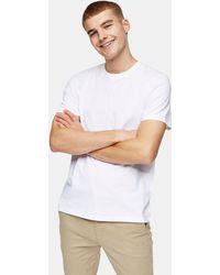 TOPMAN Camiseta blanca clásica - Blanco