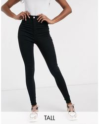 Missguided - Vice - Jean skinny taille haute super stretch - Lyst