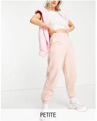 New Look Joggers rosas con bajos ajustados