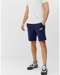 PUMA Essentials Logo Shorts - Blue