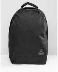 Le Coq Sportif Logo Backpack - Black