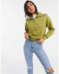 Vero Moda Sweater With Half Zip Collar - Multicolour