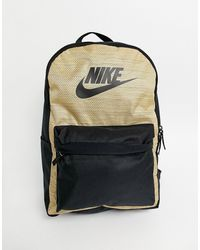 Nike Черный/коричневый Рюкзак Heritage-светло-коричневый - Многоцветный