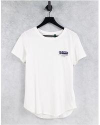 G-Star RAW – T-Shirt - Weiß