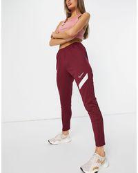 Nike Training - Academy Pro Dry - joggingbroek - Rood