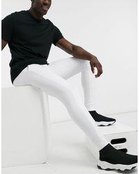Brave Soul Joggers skinny bianchi - Bianco