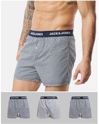 2 Pack Jack /& Jones Boxer Shorts Men Branded Designer Short Underpants Men New
