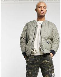 adidas Originals - Уплотненная Куртка Цвета Хаки В Утилитарном Стиле Premium Ryv-зеленый - Lyst