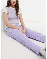 Daisy Street Вельветовые Джинсы В Винтажном Стиле -фиолетовый Цвет - Пурпурный