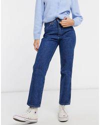 Wrangler - Wild West High Rise Straight Leg Jeans - Lyst