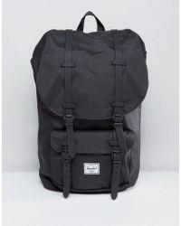 Herschel Supply Co. Little America Backpack In Black 25l