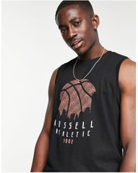Russell Athletic Sky Line Vest - Grey